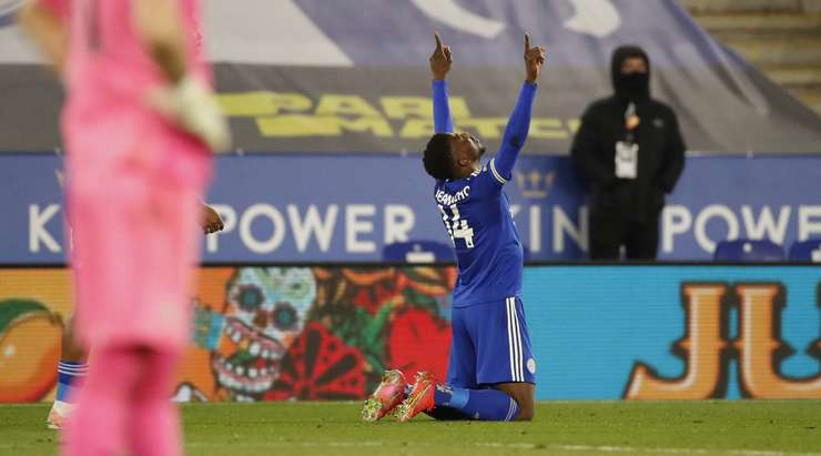 Kelechi Iheanacho on fire for Leicester City