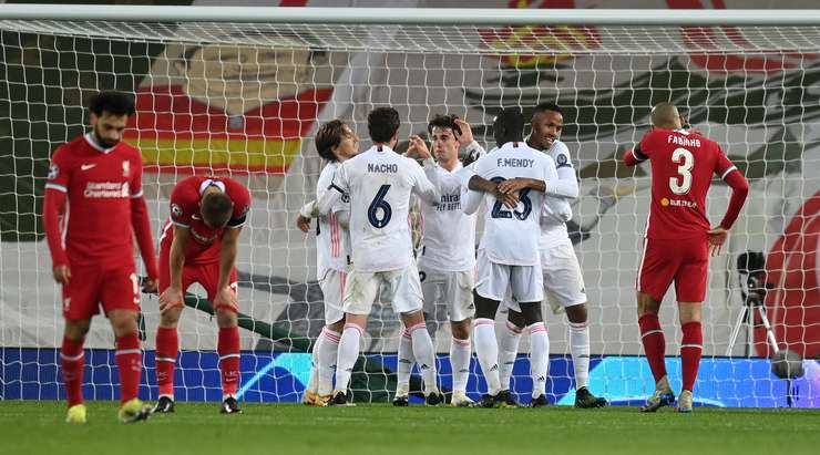 Liverpool crash out of Champions League after losing to Madrid