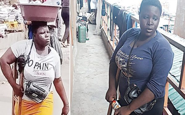Mary Daniel: the amputee busted by Lagos Government