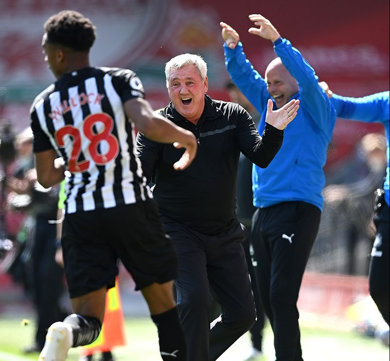 Newcastle dent Liverpool's top four hope with Willock's last gasp equaliser