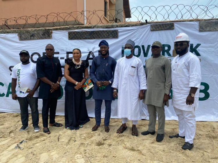 Chief Executive Officer, Noah Ibrahim and others at the groundbreaking ceremony