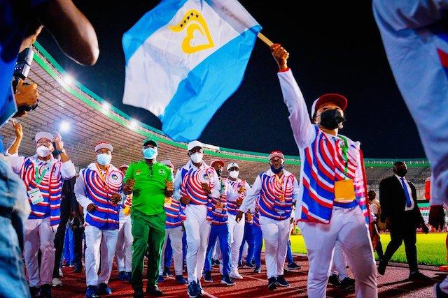 National Sports festival Champion Team Delta