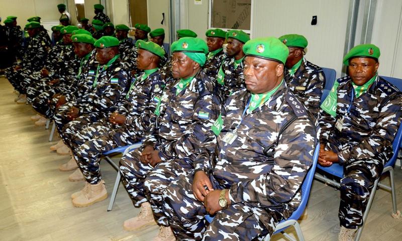 The Nigerian policemen and women in Somalia