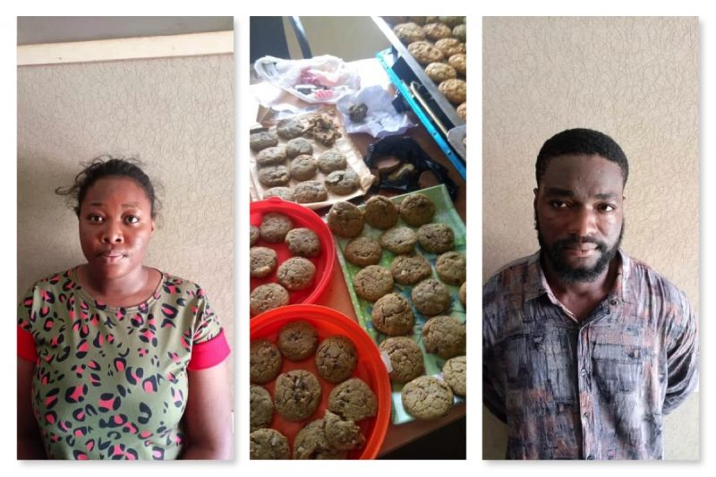 The undergraduate Rhoda Agboje and boyfriend Nwankwo arrested for selling drugged cookies to schoolkids