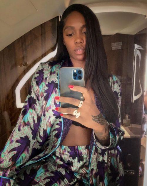 Tiwa Savage: pregnancy for where ?