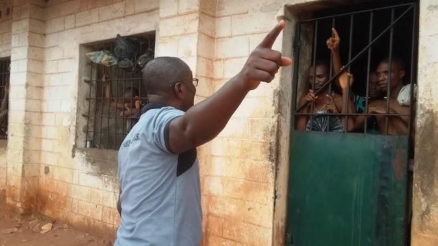 Ubiaja prison in Edo: Jailbreak aborted