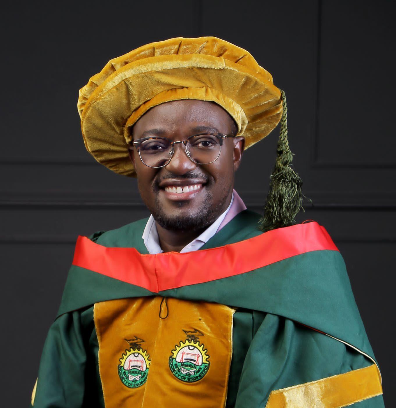 Dr Agunbiade honoured by Nigerian Society of Engineers