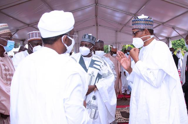Buhari with Lawan, Gbajabiamila