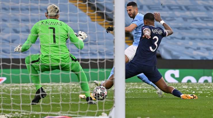 Man. City hit Champions League final after dumping out PSG. Photo: Flashscore/AFP