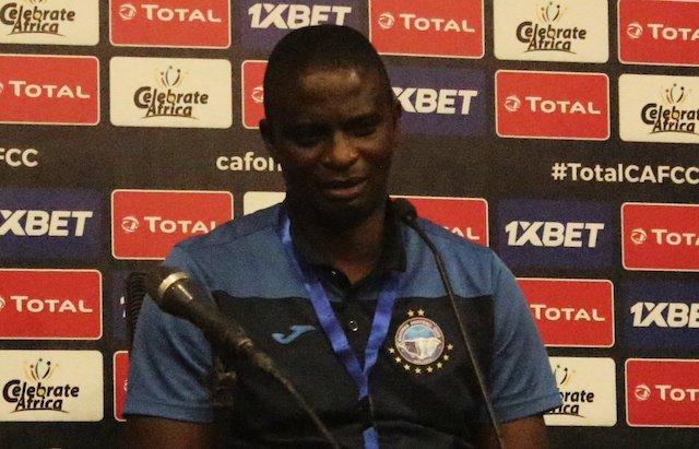Coach Fatai Osho: hopes to stun Pyramids of Egypt