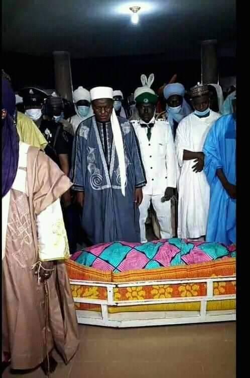 Funeral prayer for Mama Taraba Aisha Alhassan
