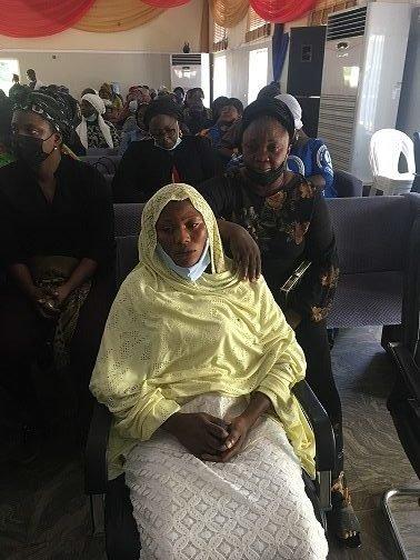 Funke Gift wife of Sergeant Adesina