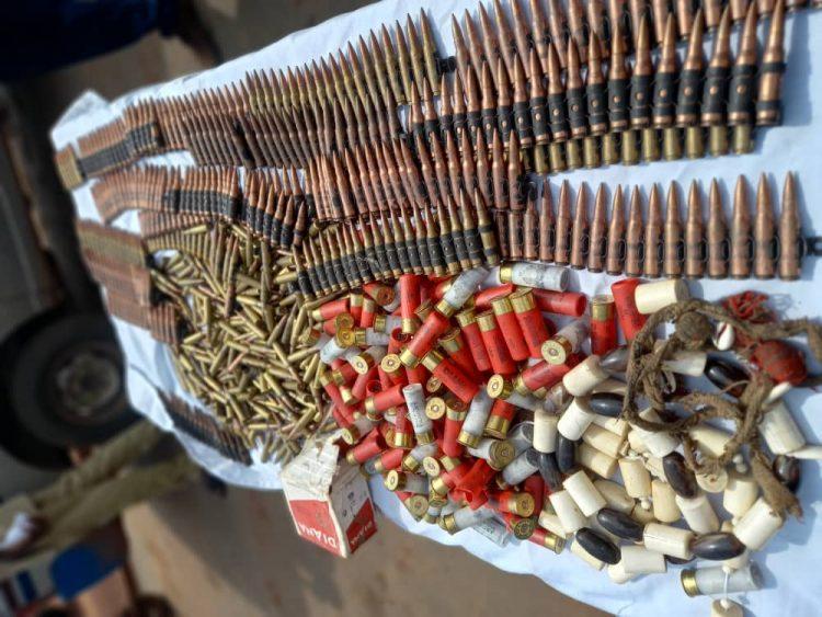 753 General-Purpose Machine Gun live ammunition seized in Abakaliki