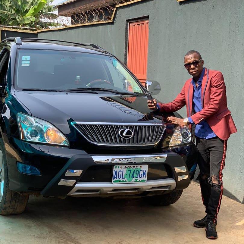 Adedeju Dan Oladehinde a.k.a Oga-nla,  Sunny Dee Records boss.