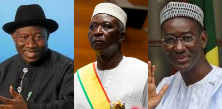 Jonathan secures release of detained Mali's President Ndaw, Ouane