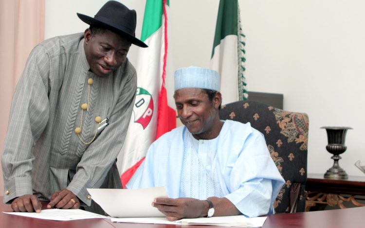 Jonathan recounted his experience with Yar'Adua 11 years after his death