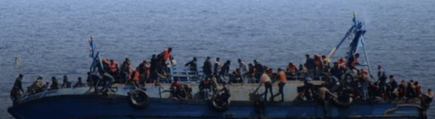 Migrants trying to cross from Tunisia to Europe