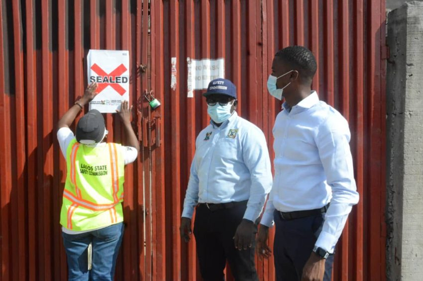 Lagos shuts Chinese firm over teenager's death