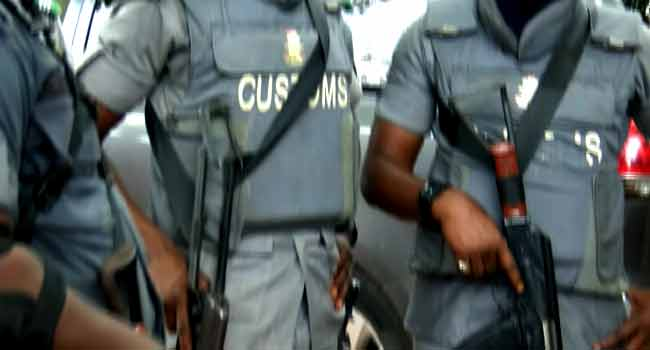 Operatives of the Nigeria Customs Service (NCS)