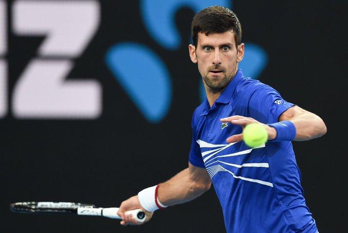 Novak Djokovic saved from Tsitsipas in Rome