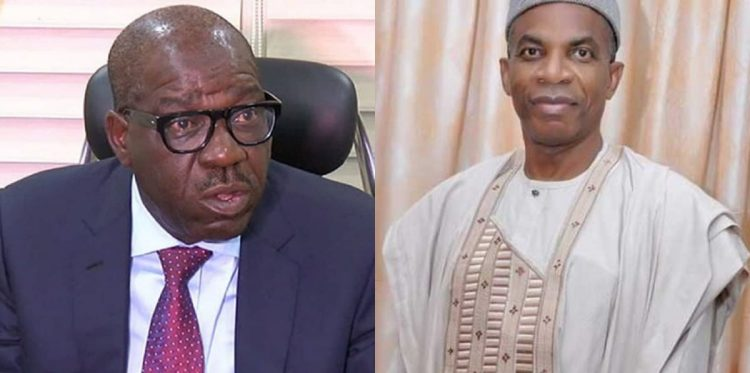 Obaseki and Dr. Tony Aziegbemi
