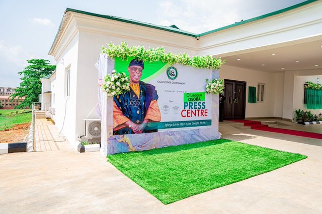 Olusegun Osoba Press Centre
