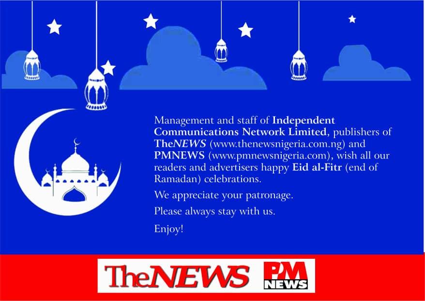 Eid-el-Fitri Greetings from PM NEWS