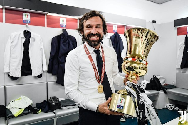 Perfect Birthday gift from the boys to Andrea Pirlo