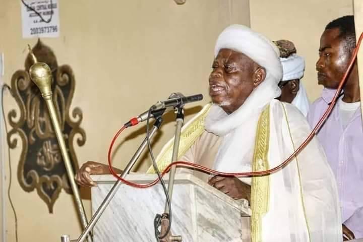 Sheikh AbdulGaniyu Abubakry Agbotomokekere Chief Imam of Ibadanland