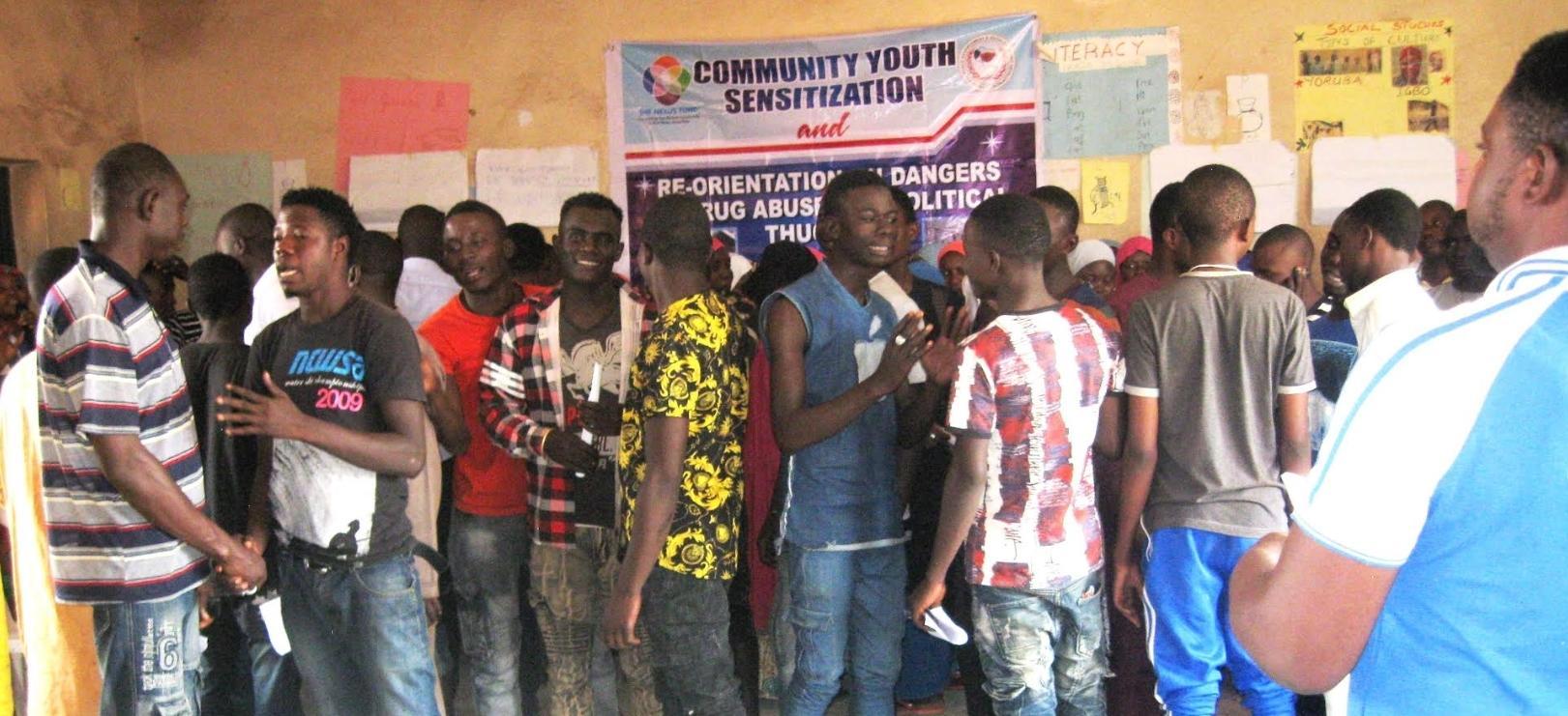 CPAED at a community youth sensitization