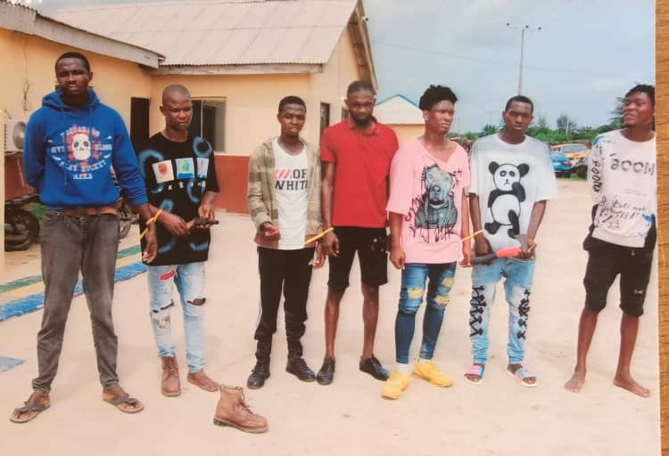 Seven suspected deadly cultists busted in Lagos hotel