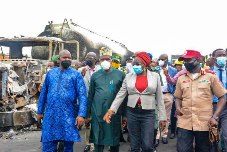 Ogun sympathises with victims of Ogere inferno