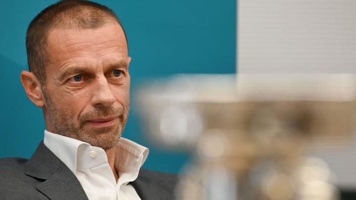 UEFA President, Aleksander Ceferin