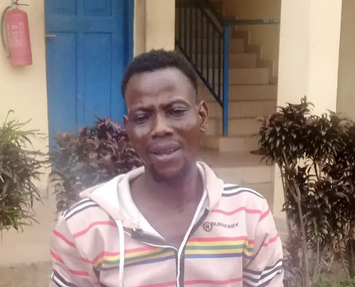 Kabiru Oyedun arrested with body parts of a yet-to-be-identified lady