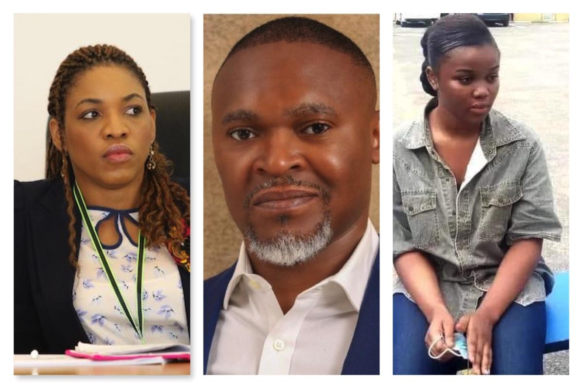Brenda Ataga, Usifo Ataga and Chidinma Ojukwu, the side chick