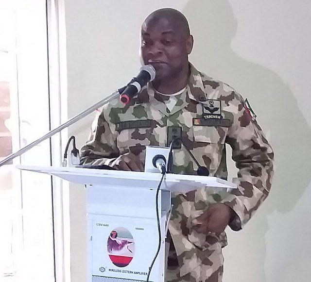 Brig. General Eyitayo; appeals to Boko Haram to surrender