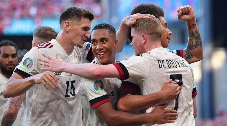 Belgium hit Round of 16 in Euro 2020
