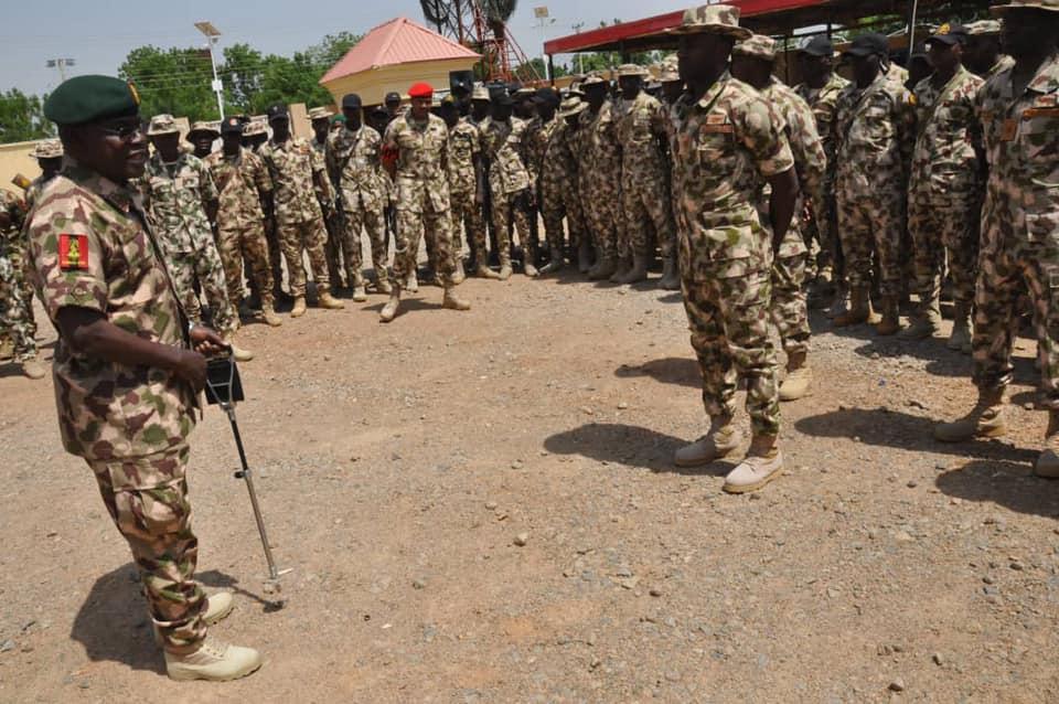 Boko Haram: COAS Yahaya sets agenda for Troops in Yobe