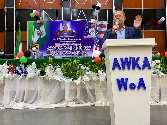 Mr Stephen Ibelli U.S. Public Affairs officer says 13,000 Nigerians admitted to U.S. universities yearly