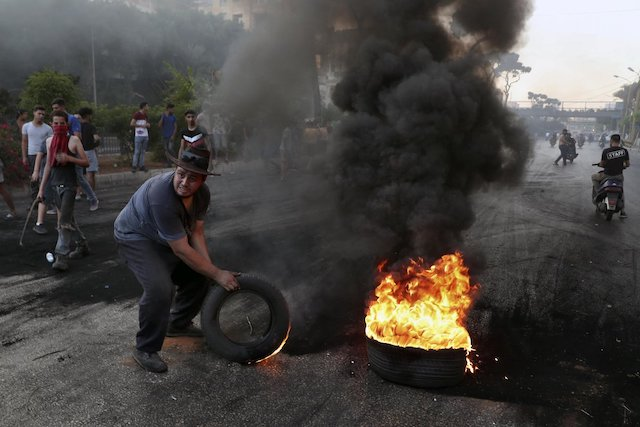 Protests in Lebanon as the economy worsens