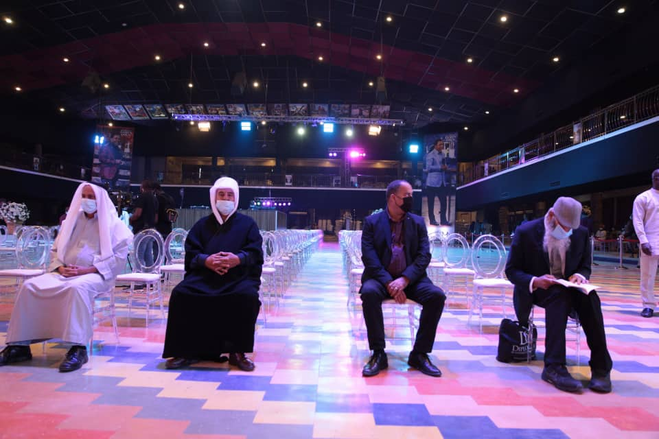 Dignitaries from Rabbi, Israel at the lying-in-state service of late TB Joshua. Photo by Ayodele Efunla
