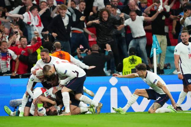 England break 55-year-old jinx to reach Euro 2020 final