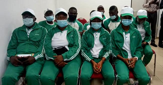 First batch of Team Nigeria leaving for Tokyo on Tuesday