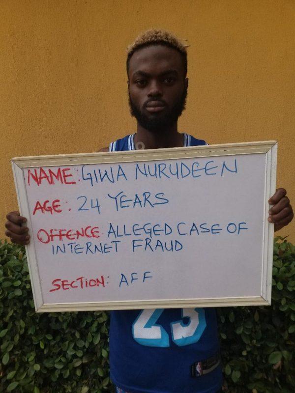 Giwa Nurudeen UNILORIN student jailed for cyber crime
