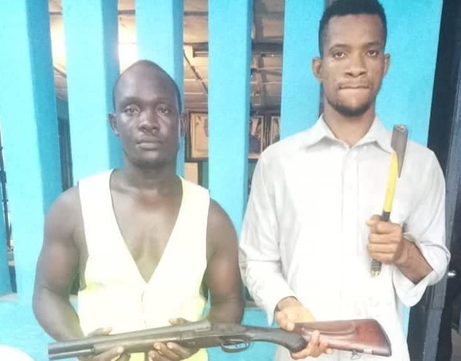 Imo police arrests robbery robbery suspect and gun supplier