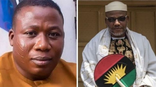 Igboho and Kanu; Fighting for secession of Nigeria