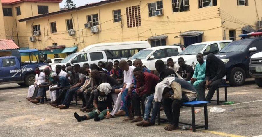 Police parade 47 Yoruba Nation: protesters