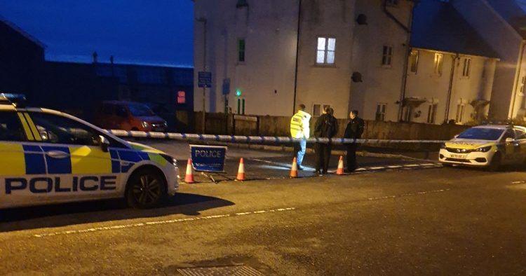 Two police officers stabbed on duty