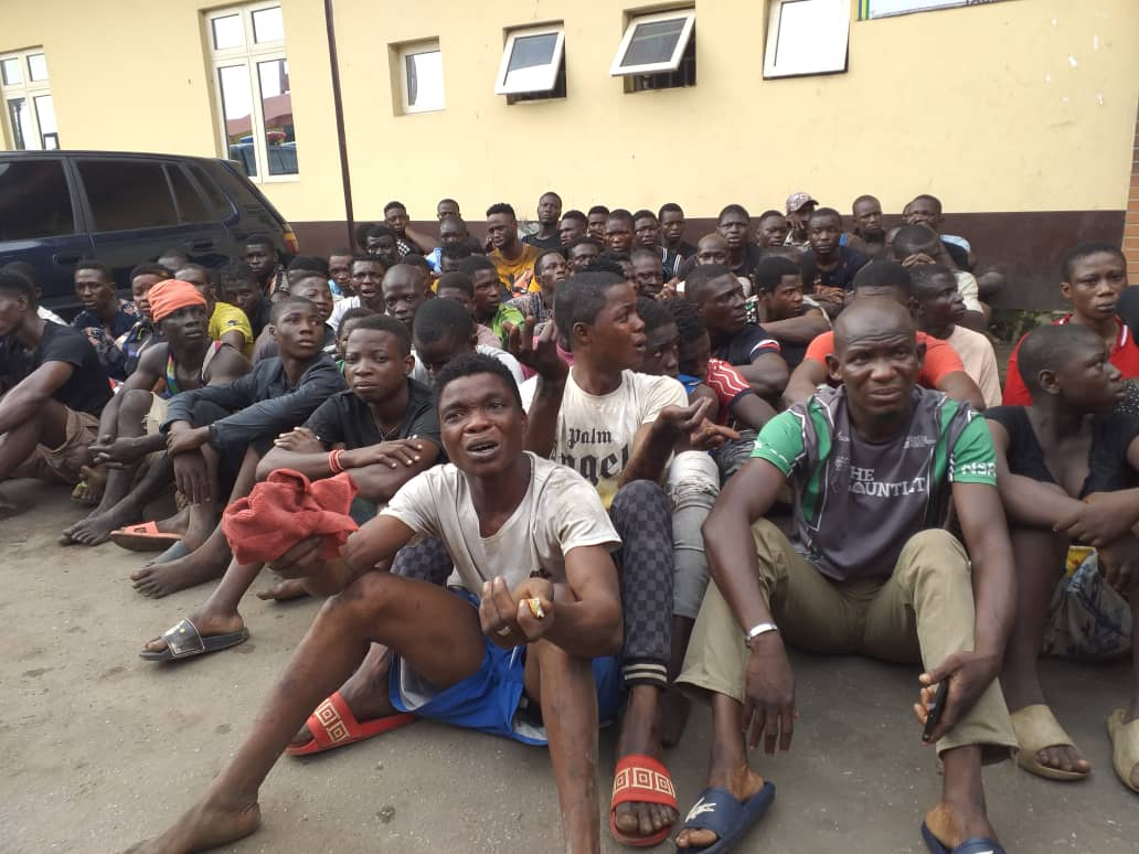 71 hoodlums arrested, 227 okadas impounded in Lagos