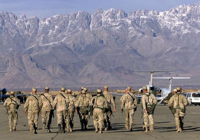 U.S. troops leave  Bagram airfield in Afghanistan